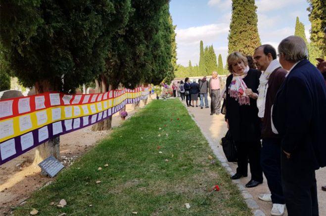 El PSOE pide permiso para colocar en el cementerio de Guadalajara una placa de homenaje a víctimas del franquismo