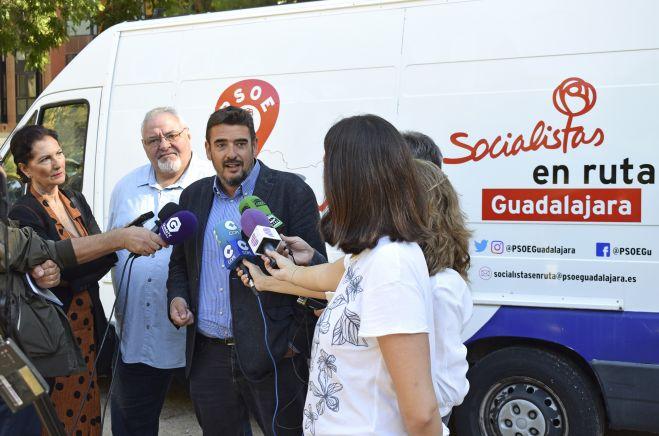 El PSOE de Guadalajara iniciará en octubre la campaña 'Socialistas en Ruta', con la que viajará por toda la provincia los próximos 4 años